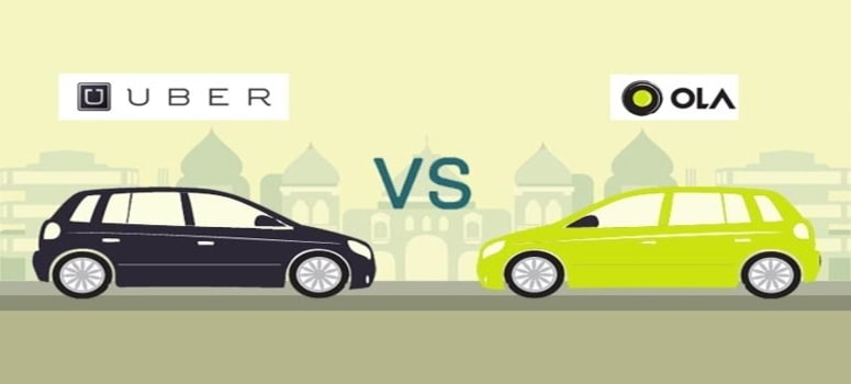 Ola & Uber, Ride-sharing options in India