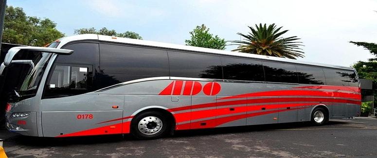 Ado Bus in Yucatan, Mexico